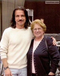Yanni and his mother