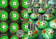 Lindas ideias de decoração, doces, lembrancinhas, convites e bolos para uma festa esportes!
