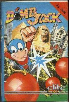 Bomb Jack ZX Spectrum 48k Cassette