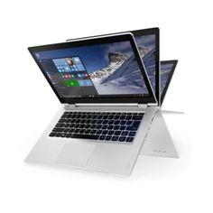 """จัดเลย  Notebook Lenovo Yoga510-80VB00ARTA (white)i5-7200U/8GB/SSD256GB/AMD R5 M430/no DVD/14""""Win10/TouchScreen/2Y  ราคาเพียง  25,900 บาท  เท่านั้น คุณสมบัติ มีดังนี้ Intel® Core™ i5-7200U processor&(3MB Cache, up to 3.10GHz) Windows 10 Home (แท้) Memory 8GB DDR4 2133MHz Hard Disk SSD 256GB Display 14″ Full HD (1920 x 1080), IPS Multi-Touch Screen Graphic Card : AMD Radeon™ R5 M430 2GB GDDR3"""