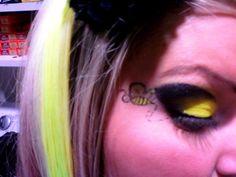 bumble bee makeup