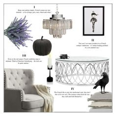 sophisticated halloween decor by orietta rose on polyvore featuring interior interiors