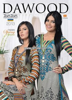 Dawood Lawn Zam Zam Collection 2013 For Summer