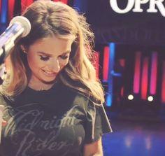 Jessie James Decker wearing our Midnight Rider Crewneck at her Grand Ole Opry Debut !