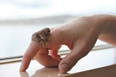 Finger Sloth Ring, This is totally you