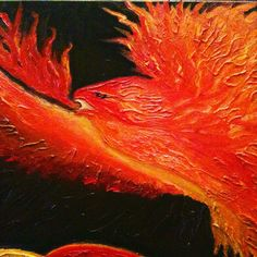 #Phoenix - it's #regeneration from any perceived failure. Lesson learned. #Move on. http://www.judirheealloway.com/purchase/spiritual-art