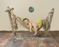 Image of Country Lane Newborn Prop Hammock with Stand