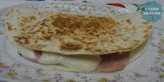 receta de quesadillas de jamon york y atun