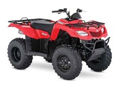 New 2017 Suzuki KingQuad 400FSi ATVs For Sale in North Carolina. In 1983, Suzuki introduced the world's first 4-wheel ATV. Today, Suzuki ATVs are everywhere. From the most remote areas to the most everyday tasks, you'll find the KingQuad powering a rider onward. Across the board, our KingQuad lineup is a dominating group of ATVs. The 2017 Suzuki KingQuad 400FSi features a five-speed manual-shift transmission and semi-automatic clutch for those who favor a bit sportier performance. It cranks…