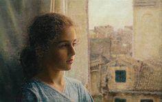 At the window by Odysseas Oikonomou