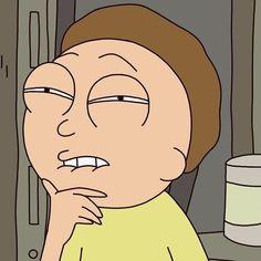Morty Smith lip bite