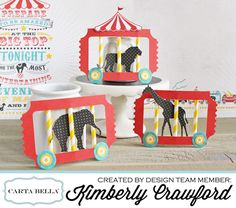 circus party train Kimberly Crawford
