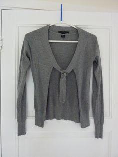 HM grey cardigan