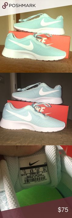 san francisco c0056 cf7a2 NWOT Tiffany blue Nike women s sz 11 Brand new, but no tags box, Tiffany  blue Nike running walking shoes. Womens size Never worn, brand new, just  removed ...
