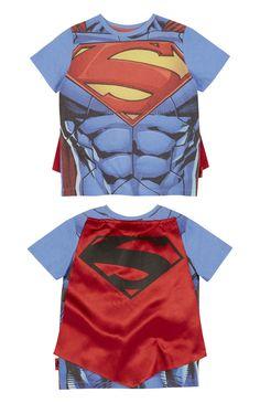 Primark - Superman Cape T-Shirt