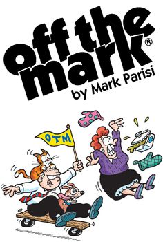 Off the Mark by Mark Parisi: The off-the-wall humor of off the mark puts a refreshingly spin on the things we see everyday... from your favorite icons to your least favorite trends, from commercials to pets to computers. Slightly skewed and just a little twisted, off the mark scores a bull's eye with readers looking for a laugh. | http://gocomics.com/offthemark | #comics #lol #webcomics | © Mark Parisi