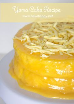 Perfect for all kinds of celebrations, here is a Yema Cake Recipe that's moist, easy to make and surely delicious.