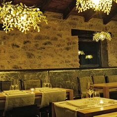 Hotel Consolacion by Camprubi i Santacana Arquitectes #restaurant #seating #rock #dining #commercial