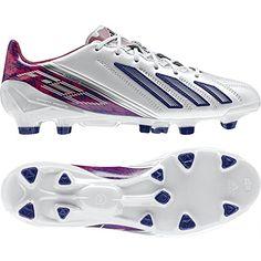 wholesale dealer 8c9e4 87a71 Adidas Womens Adizero TRX FG W LEA WhitePink Soccer Cleats Size 85 gtgt
