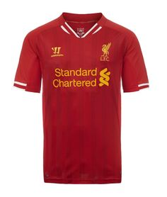 Liverpool Football Clubs brand new home kit for the Barclays Premier League  season. befa7fab8