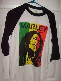 06311c69 BOB MARLEY RASTA QUARTER SLEEVE MEN'S SMALL T SHIRT NEW SPENCER'S #SPENCERS  #GraphicTee