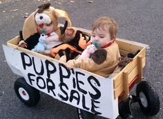 Puppies for Sale - DIY Costume