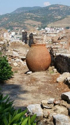 We find inspiration from pottery all over the world. This is in Turkey