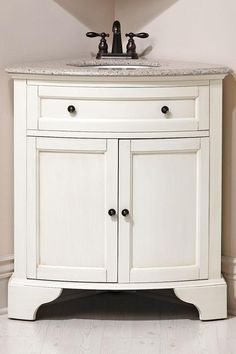 Corner Bathroom Vanity With Top | Hamilton Corner Vanity - Bath Vanities - Bath | HomeDecorators.com