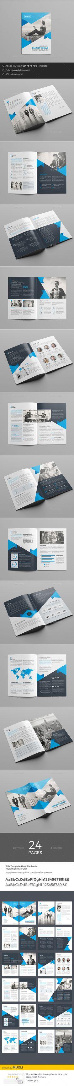 Corporate Brochure Template InDesign INDD. Download here: http://graphicriver.net/item/corporate-brochure/16182305?ref=ksioks