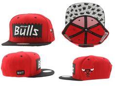 Chicago Bulls Snapback Mitchell And Ness x BAIT STA Snapback 6456