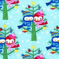Michael Miller | Sewing Bee Fabrics100% cotton - Christmas lovebirds