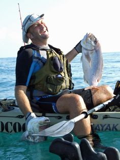 Pareja dentones a jigging desde kayak