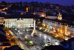 Rossio square #Lisboa #Portugal