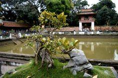 HANOI Temple of Literature in Hanoi, Vietnam