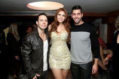 Marcelo na festa da Playboy da Amanda