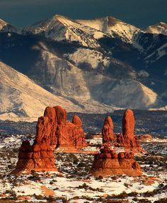 Arches National Park, Moab, Utah. Photo by Jason Branz.