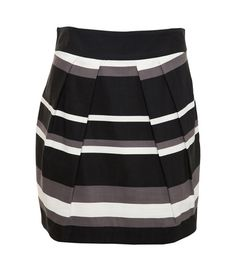 Check out and shop this cute Awear Black Varigated Stripe Skirt at http://rstyle.me/~A9na