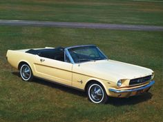 The first full year of Mustang production was drastically ramped up to meet a soaring demand. The '65 model was a refinement of the original.