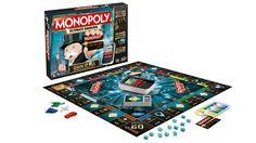 Cashless Monopoly. Ok, het is niet helemaal nieuw maar cashless initiatieven houden we van. :-)