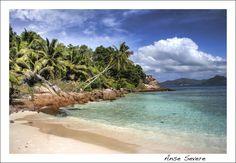 Anse Severe, La digue, Island, Seychelles, Landscape