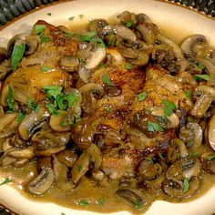 Chicken Marsala Michael Symon.  This is just like the recipe I used in my restaurant and catering.  Delicious!!!