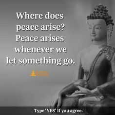 """105 Buddha Quotes You're Going To Love """"Everything is changeable, everything appears and disappears there is no blissful peace until one passes beyond the a Yoga Quotes, Words Quotes, Motivational Quotes, Life Quotes, Inspirational Quotes, Qoutes, Meditation Quotes, Meditation Space, Buddhist Quotes"""