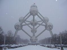 Bruselas nevado/ Snowed Brussels