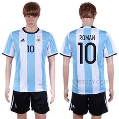 http://www.yjersey.com/argentina-10-roman-home-2016-copa-america-centenario-soccer-jersey.html ARGENTINA 10 ROMAN HOME 2016 COPA AMERICA CENTENARIO SOCCER JERSEY Only $35.00 , Free Shipping!