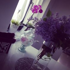 Beautiful flower on my table
