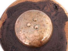 Alma Allen 3 footed bronze bowl