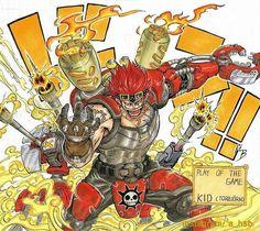 One Piece, Eustass Kid, Crossover