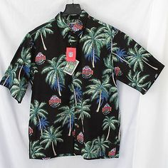 d7502a3c4 Details about Reyn Spooner NFL Pro Bowl 2002 All Star Game Hawaii XXL Men's  Shirt Reverse EUC