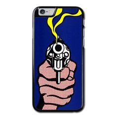 Roy Lichtenstein Gun iPhone 6 Case
