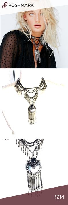 Free People Bandito Metal Collar Necklace Store overstock; New with tags; Free People Bandito Metal Collar Necklace Free People Jewelry Necklaces